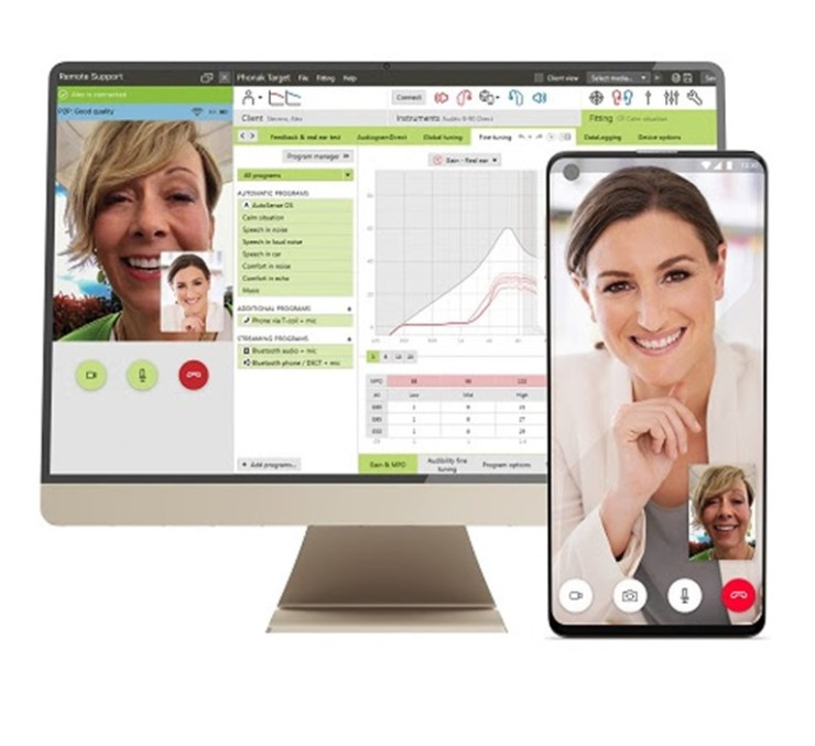 E Audiology remote service